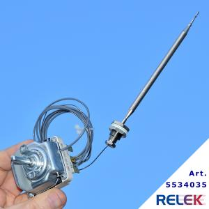 Termostat 95-180°C 3-pol EGO 1-stegs 1780mm 6x133mm