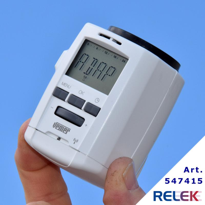 Termostat-styrning THERMOPRO RF, elektronisk, display