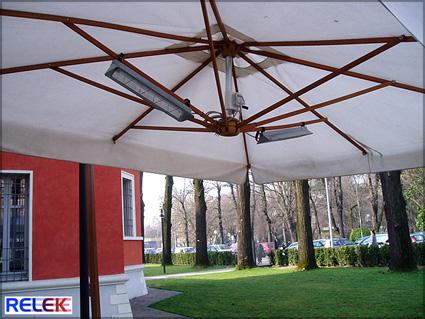 IR-värmare för trädgård, uterum.