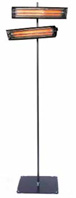 IR-värmare med fast stativ