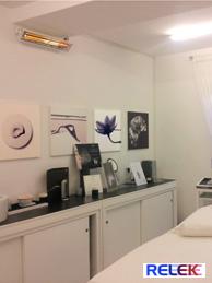 IR-värmare: för vård, vårdcentral, omsorg, kliniker, massage mm.