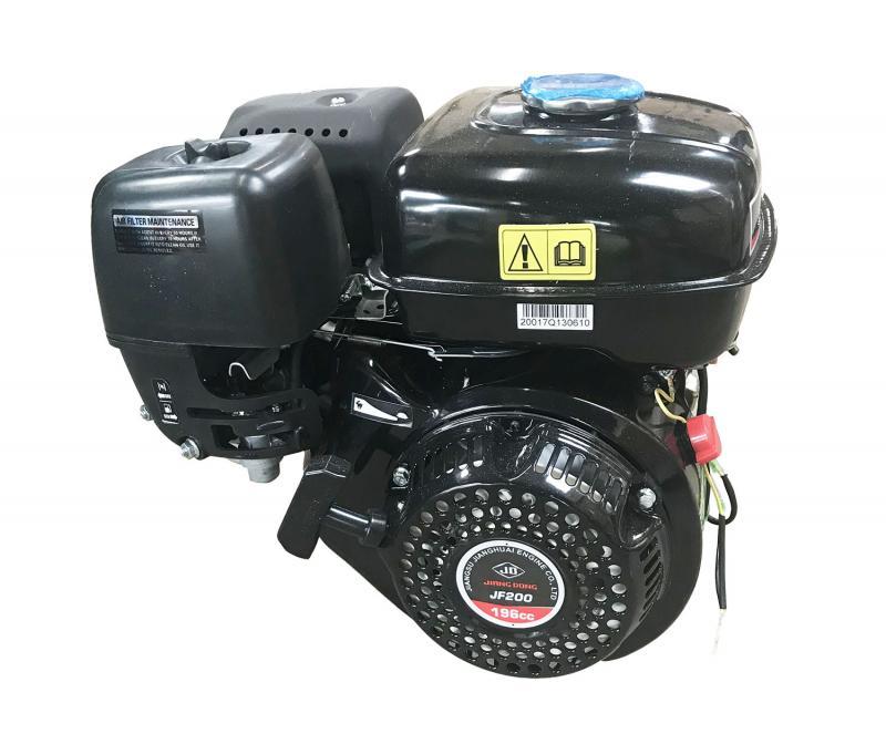 Motor till art.nr 10563 Mobil vedklyv 22T