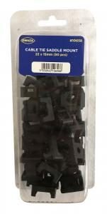 Kabelclips 22x15mm Nylon 50-pack