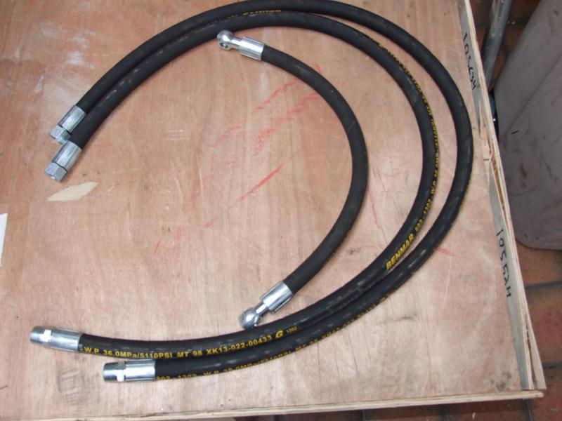 Hydraulslang - sats 3 st - till art.nr 10563 Mobil vedklyv 22T