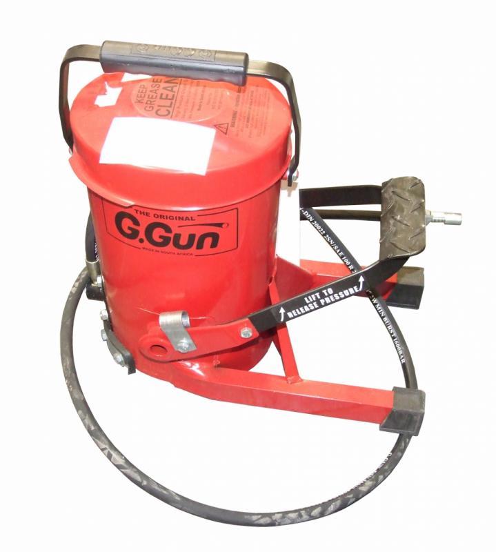 Fettspruta G. Gun - pumpar fett med foten
