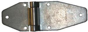 Gångjärnsblad 116x70x65mm