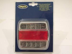 Vagnsbelysning LED 100x100x40mm