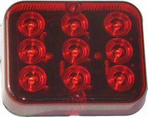 Dimljus LED Trailer-/Vagnsbelysning