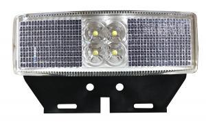 LED Positionslykta 12/24V Vit Monteringsbricka
