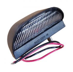 LED Nummerplåtsbelysning