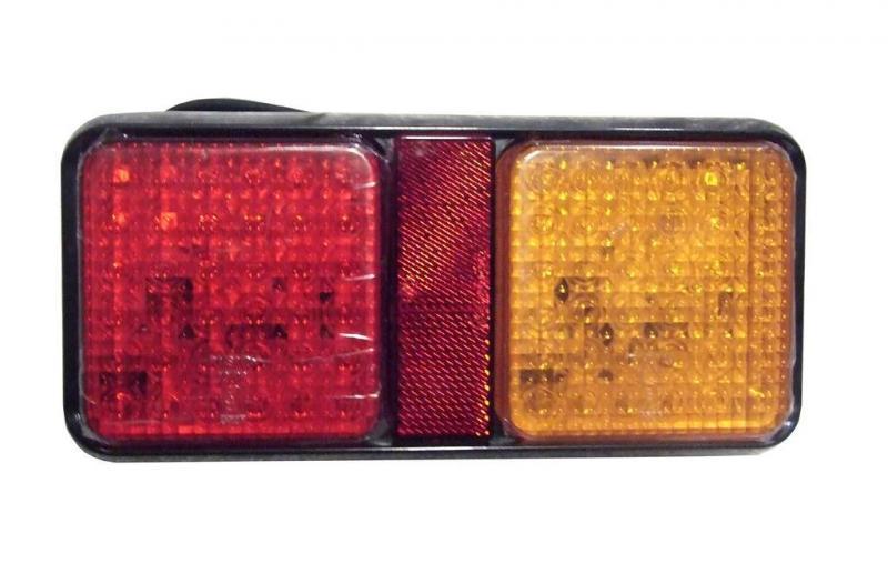 Bakre Vagnsbelysning - LED