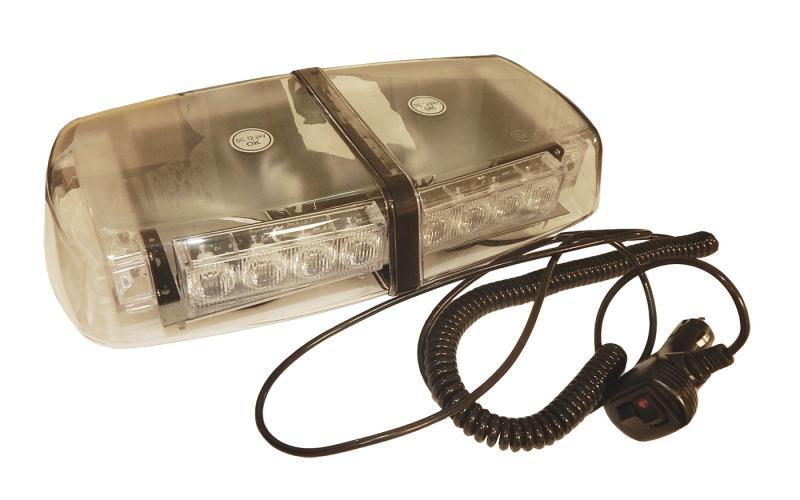 Varningsljus/skena LED Magnetisk