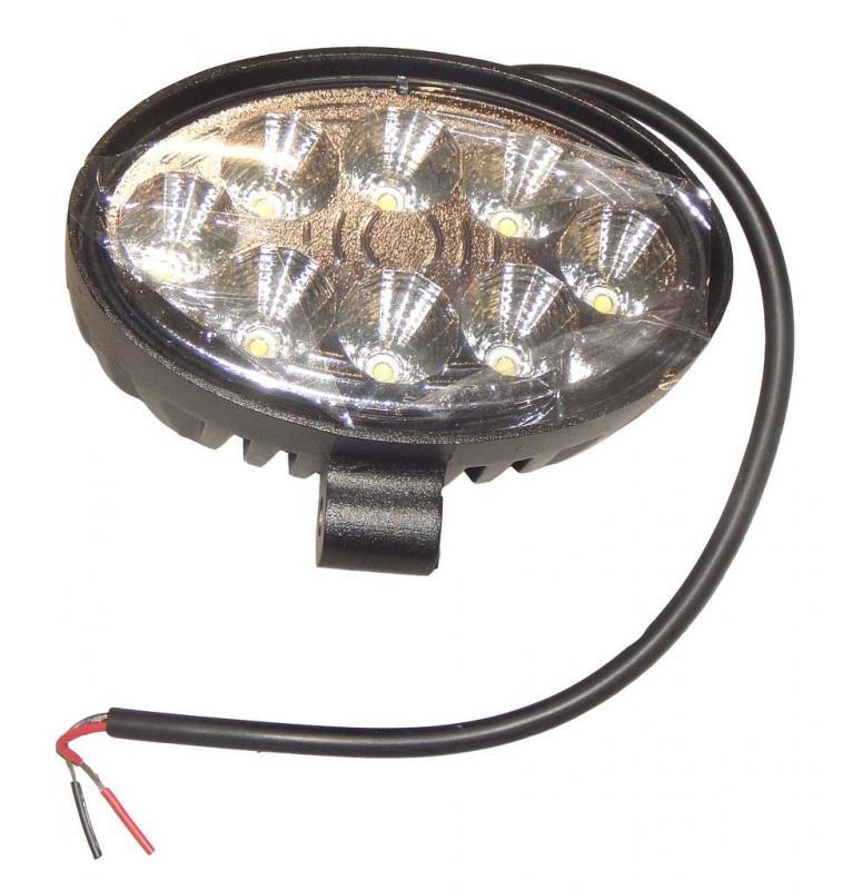 LED Arbetsbelysning 48W 10-30V Oval 4200 Lumen