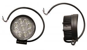 LED Arbetsbelysning 1800 Lumen Bred ljusbild