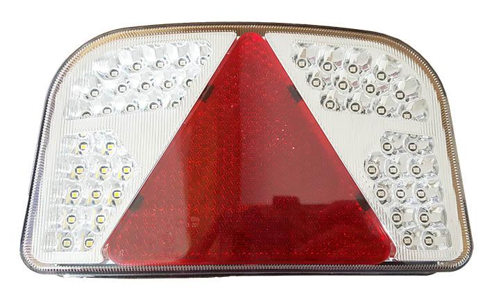 Bakre Vagnsbelysning - LED - Höger