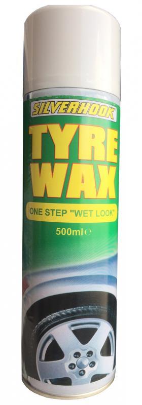 Aerosol Tyre Wax 500 ml