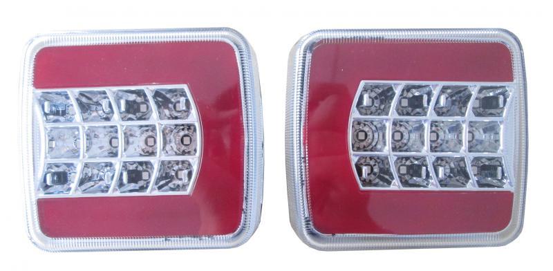Bakre Vagnsbelysning Glo Trac LED
