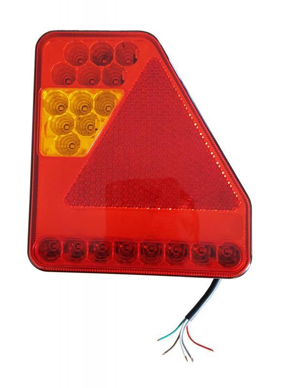 Bakre Vagnsbelysning LED 12V/24V Höger