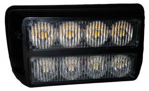 LED varningslampa med pulserande ljus Gul 12V /24V