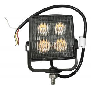LED pulsmarkör med variabelt ljus inkl. fäste 12 / 24V