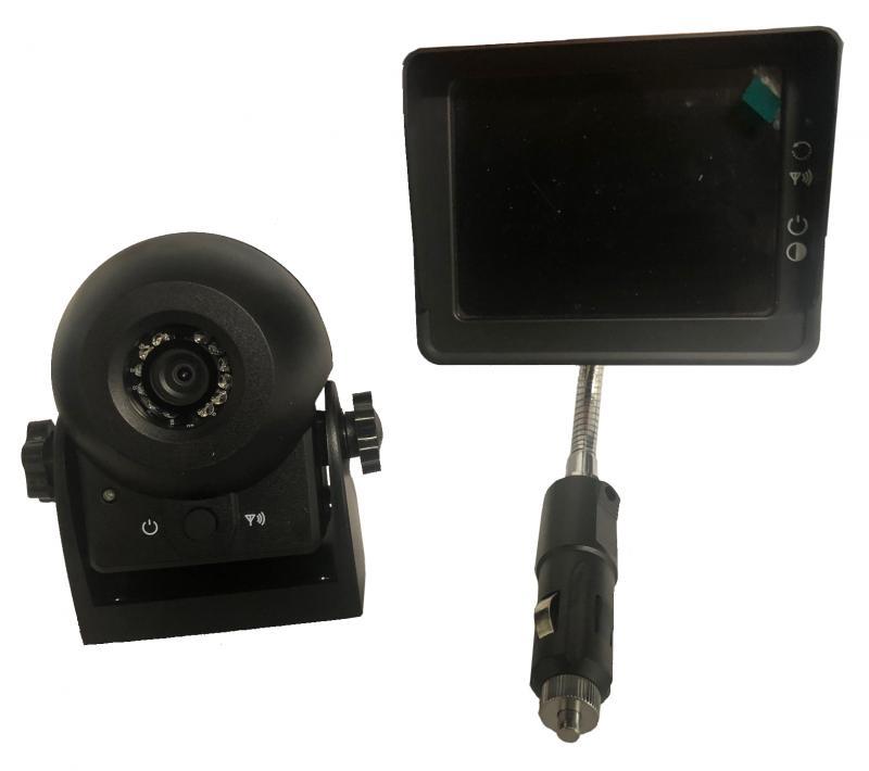 Trådlös backkamera med 3,5-tums LCD-skärm i färg