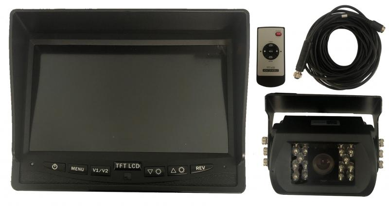 "Backkamera samt 7"" monitor"