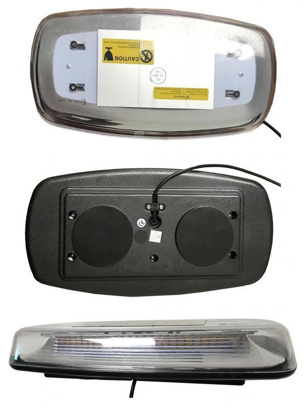 LED Varningsljus Magnetisk 12 / 24V