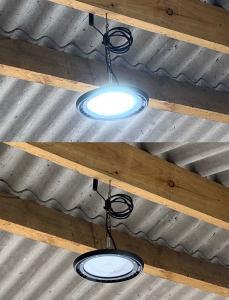 LED belysning för höglager etc 100W 8000 Lumen