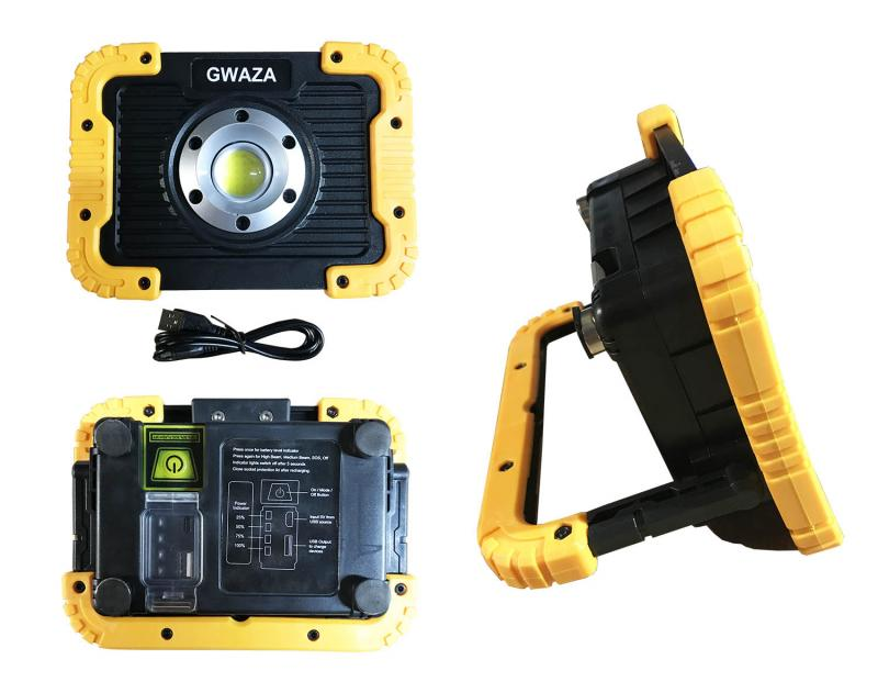 COB-LED Bygg-/Arbetslampa 750 Lumen 10W