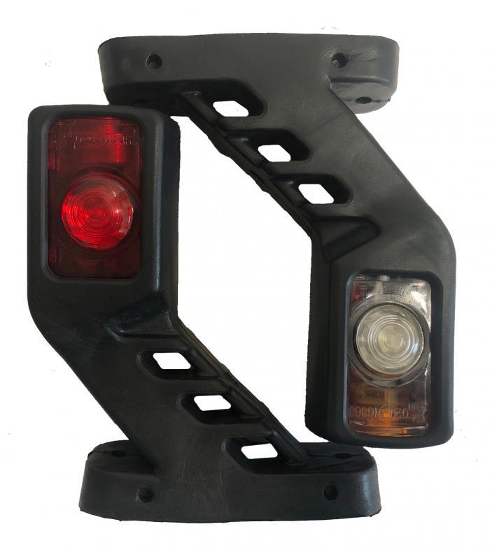 LED Sidomarkeringslampa - Medel -10-30V - 1 Par