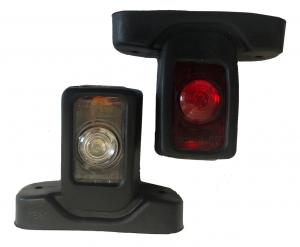 LED Sidomarkeringslampa - Kort -10-30V - 1 Par (kopia)