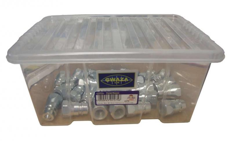 Hydraulkoppling - Snabbkoppling 25-pack
