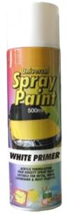 Sprayfärg Basic Primer Aerosol Vit 500ml