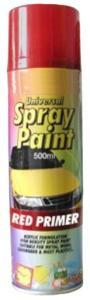 Sprayfärg Basic Primer Aerosol Röd 500ml