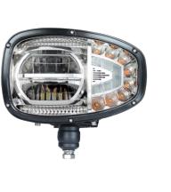 LED Strålkastare 10-30V - Vänster till JCB