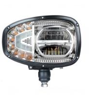 LED Strålkastare 10-30V - Höger till JCB