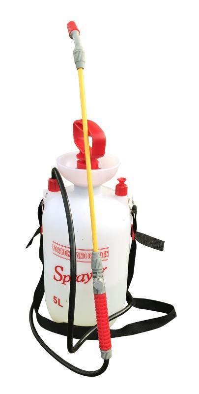 Ogrässpruta & lans 5 liter med Vitontätningar