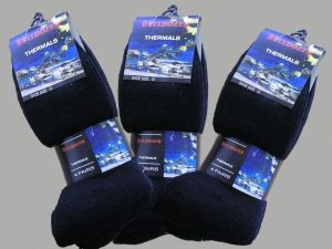 Termiska sockor Stl 39-45 - 12-pack