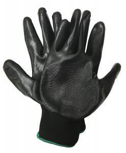 Nitrilbelagda handskar 1-par Stl 10 X-Large