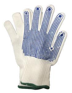 Stickade handskar 1-par Stl 9 Large