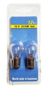 Glödlampa 21W/5W LLB 380 2-pack