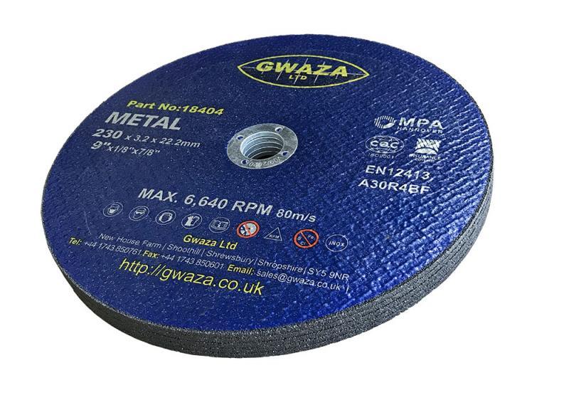 """Kapskiva Metall 230 x 3,2 x 22,2mm (9"""") 5-pack"""