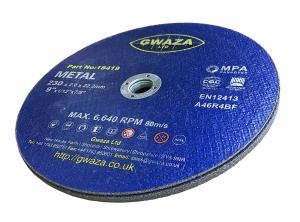 """Kapskiva Metall 230 x 2 x 22,2mm (9"""") 5-pack"""