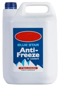 Glykol Blå frostskyddsmedel & kylvätska - 5 Liter