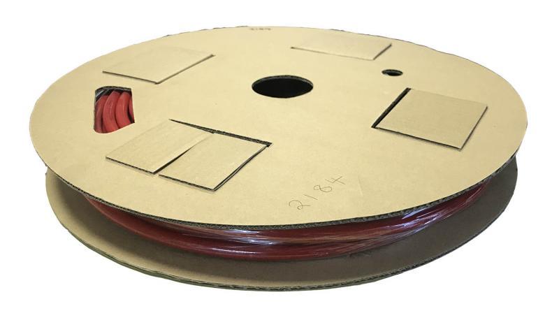 Luftslang till bromssystem 10 mm x 25 meter Röd