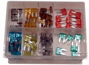 Flatstiftsäkringar Mini Set 69 delar