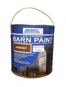 Färg 2,5 liter Kastanjebrun