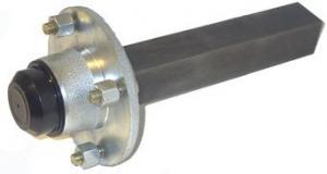 Hjulaxel Komplett 35x200mm