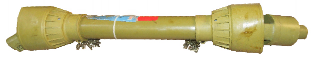 Kraftöverföringsaxel / PTO-axel 6-splines A5 - Smatterkoppling - 47Hk