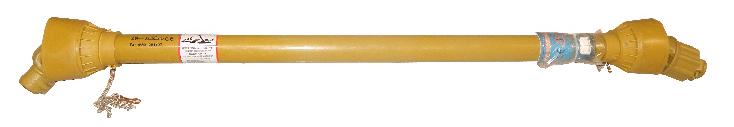 Kraftöverföringsaxel / PTO-axel 6-splines A4 - Momentbegränsare - 35Hk